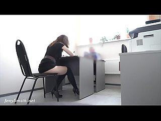 Hidden cam provoke job interview