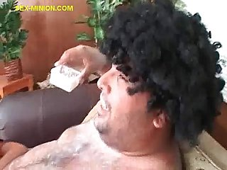 Blowjob for A Fat Guy