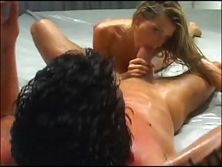 Vicky vette latex oil fights
