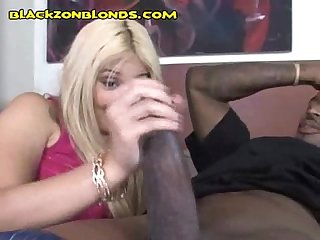 Blonde measures black inches