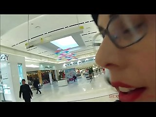 Public cum walk at the mall excl