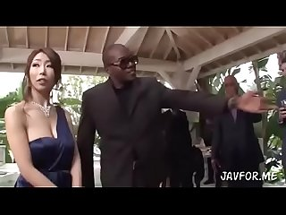 Homeless black guy fucks japanese woman