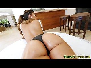 Big butt latina railed