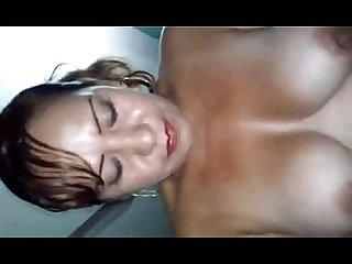 Madura mexicana de enormes tetas mama verga