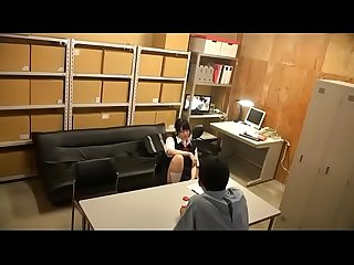 Cute Japanese schoolgirls getting abused by a group of men