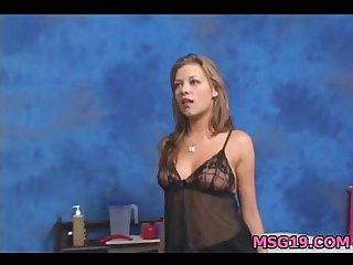 Cute 18 year old girl gets fucked hard