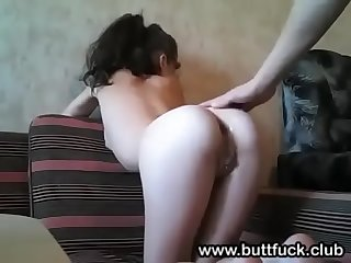 Barely Legal Amateur Anal Teenie