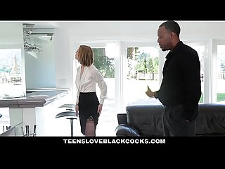TeensLoveBlackCocks - Hot Blonde Takes Colossal Black Cock