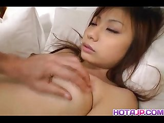 Anna shinagawa sucks tool and is drilled