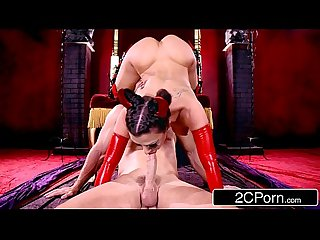 Big Tit Rachel Starr is a Horny Little Devil