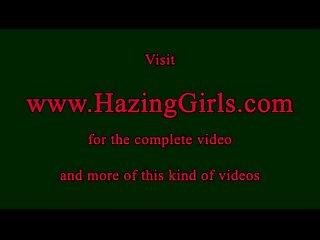 Lesbian teens in kinky initiation
