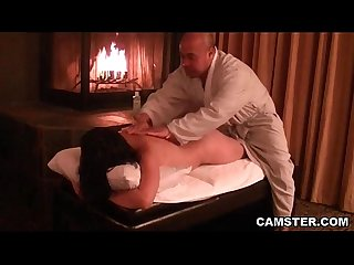 Asian hottie getting her tissues massaged
