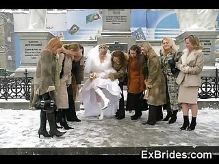 Real brides so naughty excl