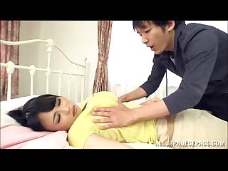 Busty Japanese Milf Pleases A Dude With A Breath-Taking Titj