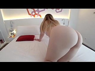 White girl with big ass loves to fuck
