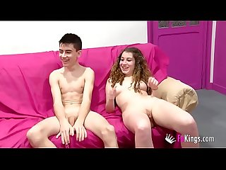 Real couples get an orgy and sex games with Jordi, Ainara and friends