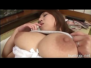 Chubby Japanese Mom - Visit bustxxx.net for more boobs video