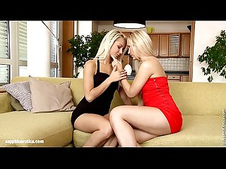 Tania and anneli in a nice lesbian scene by sapphic erotica