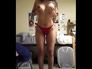 Hot indian model stripping