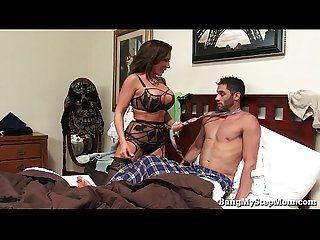 Young guy goes balls deep in his own stepmom