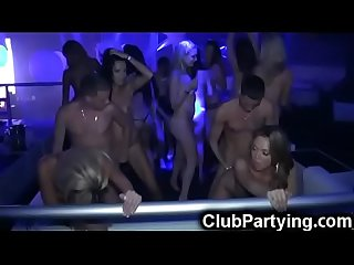 Hot Chicks in Club Orgy Party!