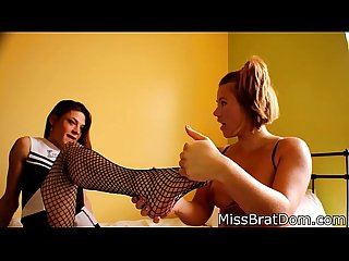 Bp061 trans lesbian feet love footfetish preview starring Kimberly gray