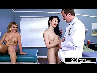 Doctor & Nurse Take A Fucking Break - Aria Alexander & Sofia Valletta