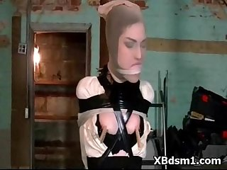 Kinky wild bdsm chick fetish sex
