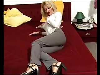 Mature blonde cheating with her lover