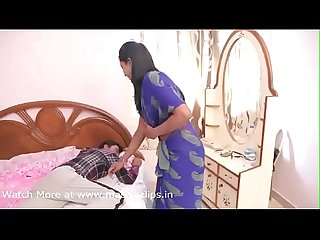 Trying to force indian wife at bedroom hot video