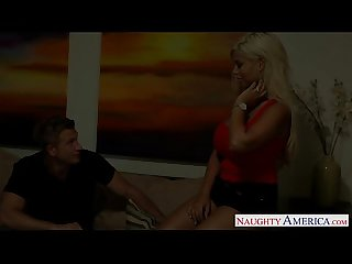 Big titted blondie bridgette B fucking a large dick