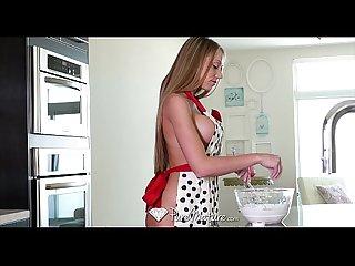 Puremature milf shawna lenee fucks after some naked baking