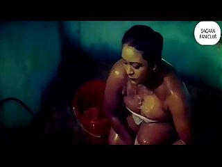 Shakeela at her Best Yoga Bathing