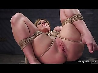 Huge tits Milf trainee in pile driver