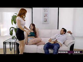 Momsteachsex hot milf caught daughter fucking stepson s8 e1