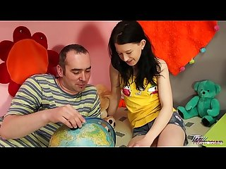 Teenyplayground Lolipop learn what older teacher show her and enjoy it