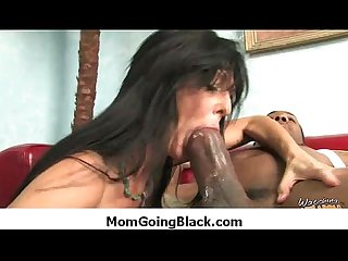 Milf porn watching my mom going black in interracial sex 24