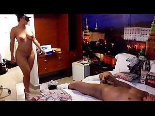 Sexo con stripper en una de sus despedidas de soltera filmada x su futuro esposo
