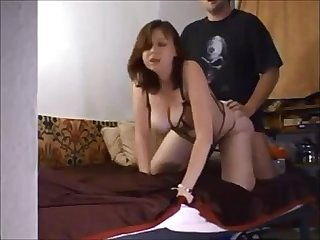 Big boobed chick fucked on homemade