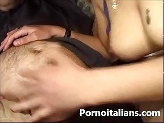 Porno italiano il Pompino Al fotografo