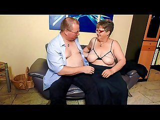 Xxx omas fat Mature german granny in stockings fucks lover