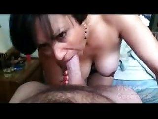 Madurita mama y recibe