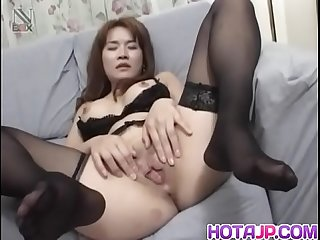 Curvy ass Mako Kamizaki tries cock down the butt hole - More at hotajp com