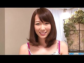 SErious toy insertion scenes for hairy Hitomi Oki