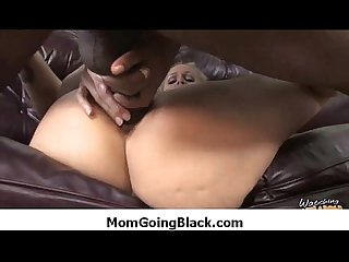 Hot milf mommy rides black monster dick 19