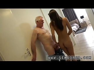 Fuck my pussy and old italian bastard but she wants a rock hard