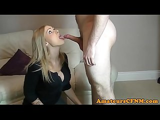 Amateur cfnm babe cocksucking in sexgames