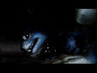 Khajiit X werewolf