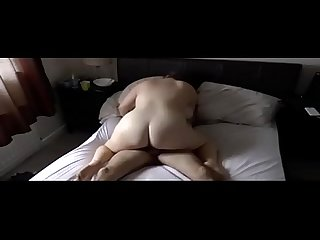 French Amateur Creampie for BBW