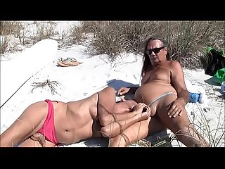 Jamie and michelle 60 on The beach excl basedcams period com